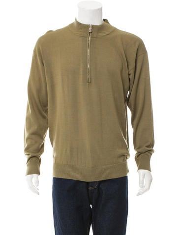 Bogner Mock Neck Half-Zip Sweater None
