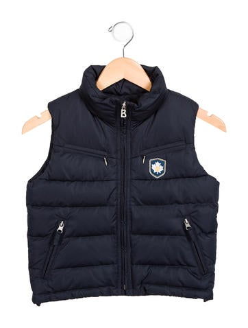 Shop for and buy boys vest online at Macy's. Find boys vest at Macy's. Macy's Presents: The Edit- A curated mix of fashion and inspiration Check It Out. Free Shipping with $75 purchase + Free Store Pickup. Contiguous US. First Impressions Baby Boys Hooded Puffer Vest, Created for Macy's.