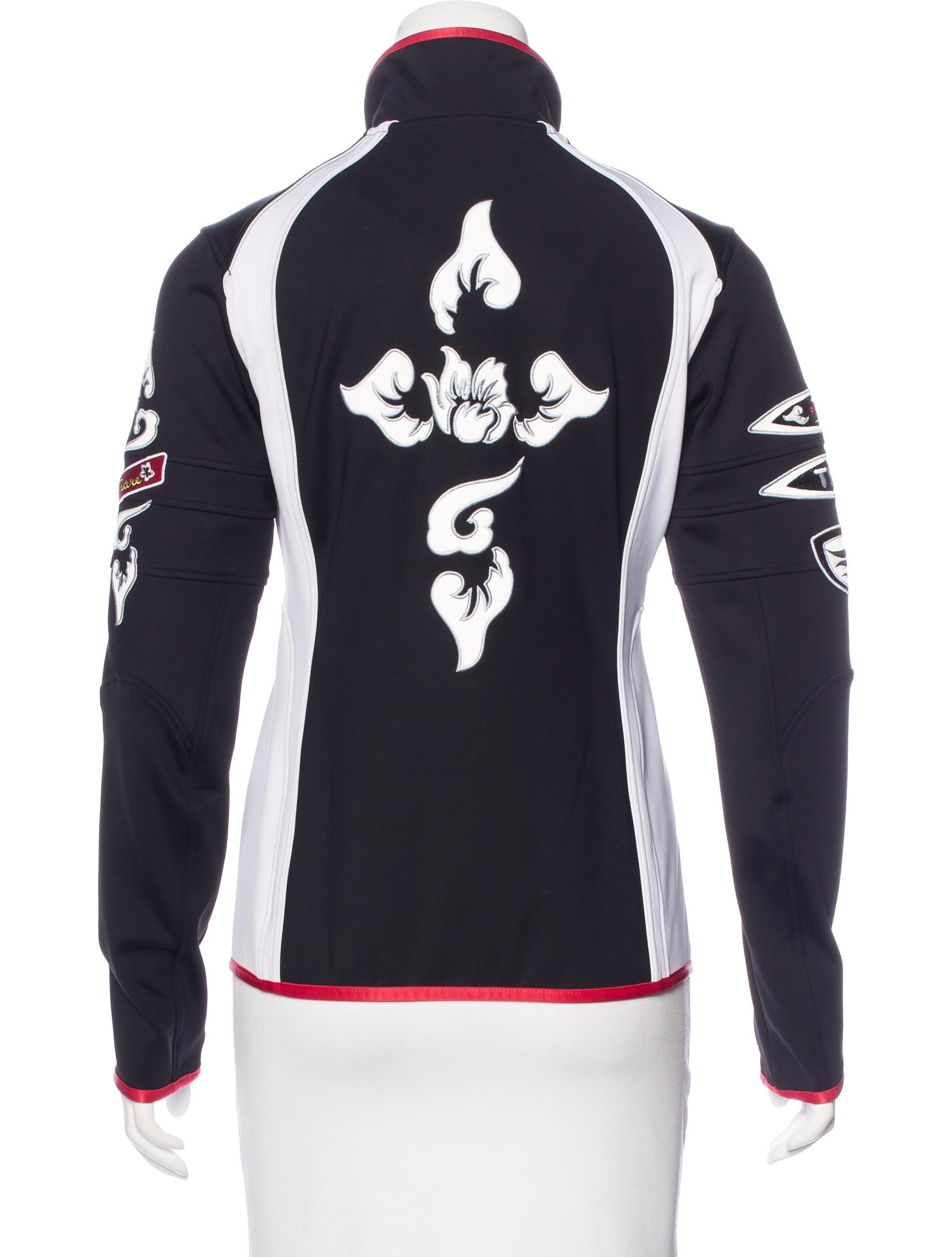 bogner embroiderd ski jacket clothing wb120567 the