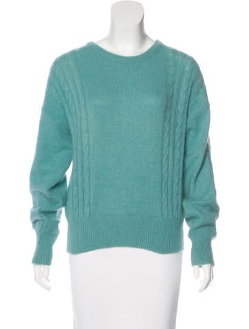 Bogner Angora & Wool-Blend Knit Sweater None