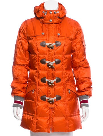 Bogner Quilted Down Coat None