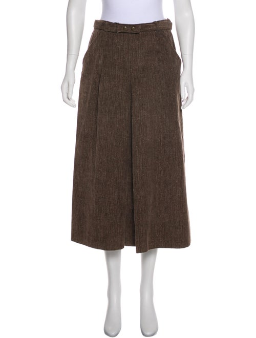 Bogner Corduroy Maxi Skirt Brown