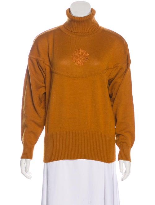 Bogner Turtleneck Sweater Orange
