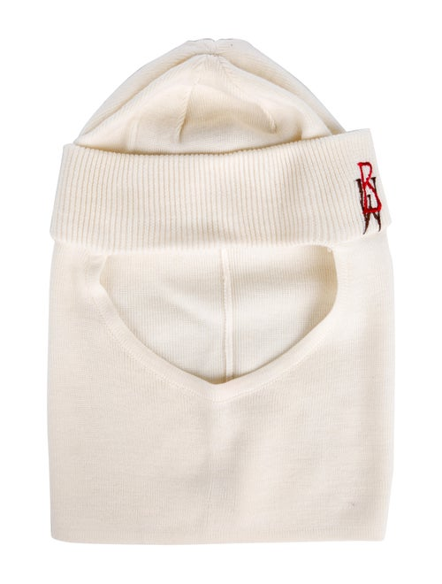 Bogner Embroidered Knit Balaclava multicolor