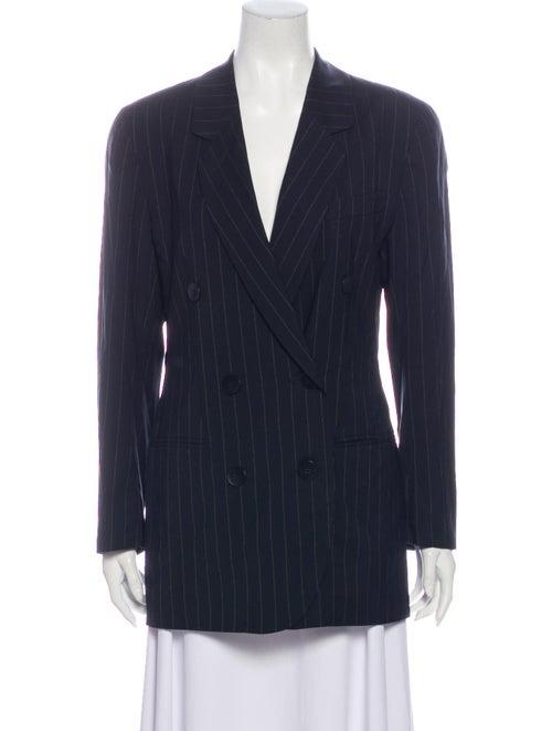 Bogner Wool Striped Coat Wool