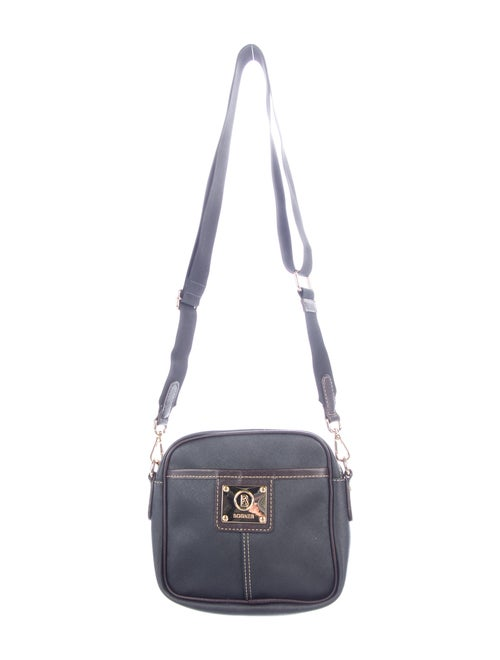Bogner Leather Crossbody Bag Black
