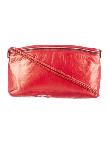 Bally Metallic Leather Shoulder Bag