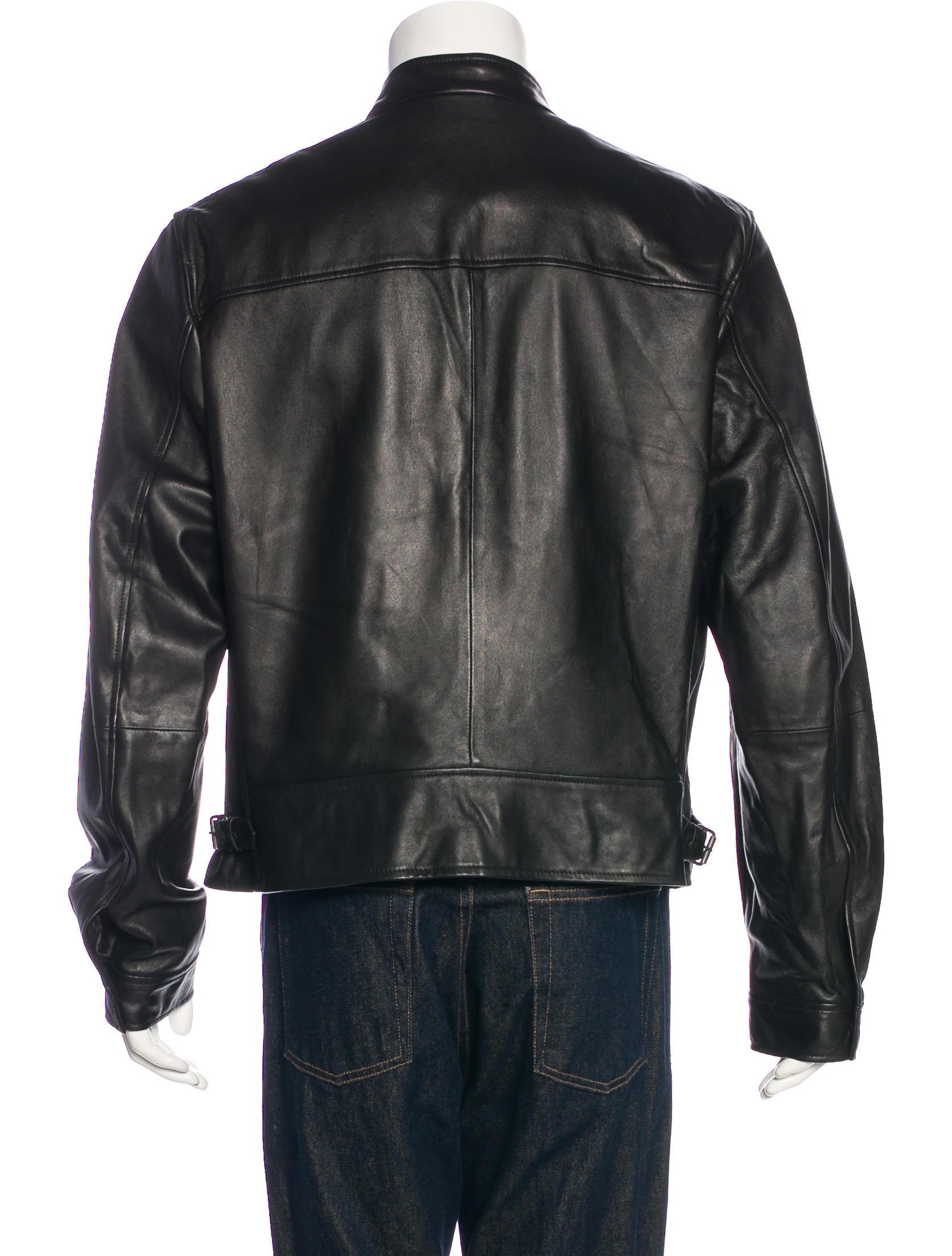 Bally Lambskin Jacket Clothing Wb222034 The Realreal