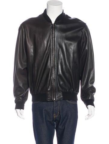 Bally Leather Bomber Jacket None