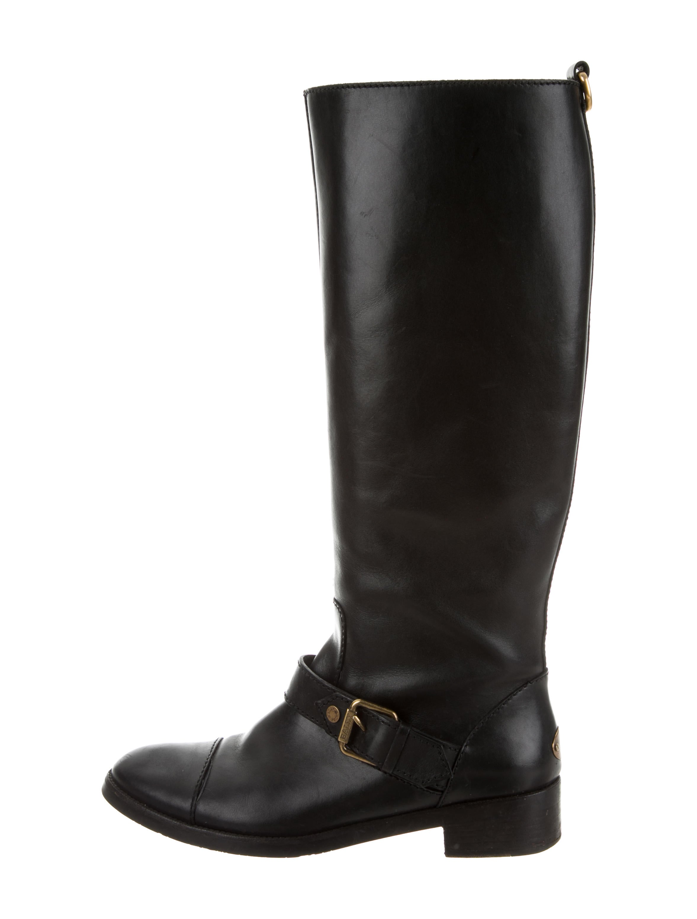 cheap new Bally Cap-Toe Riding Boots cheap price store NCOIxCT3t