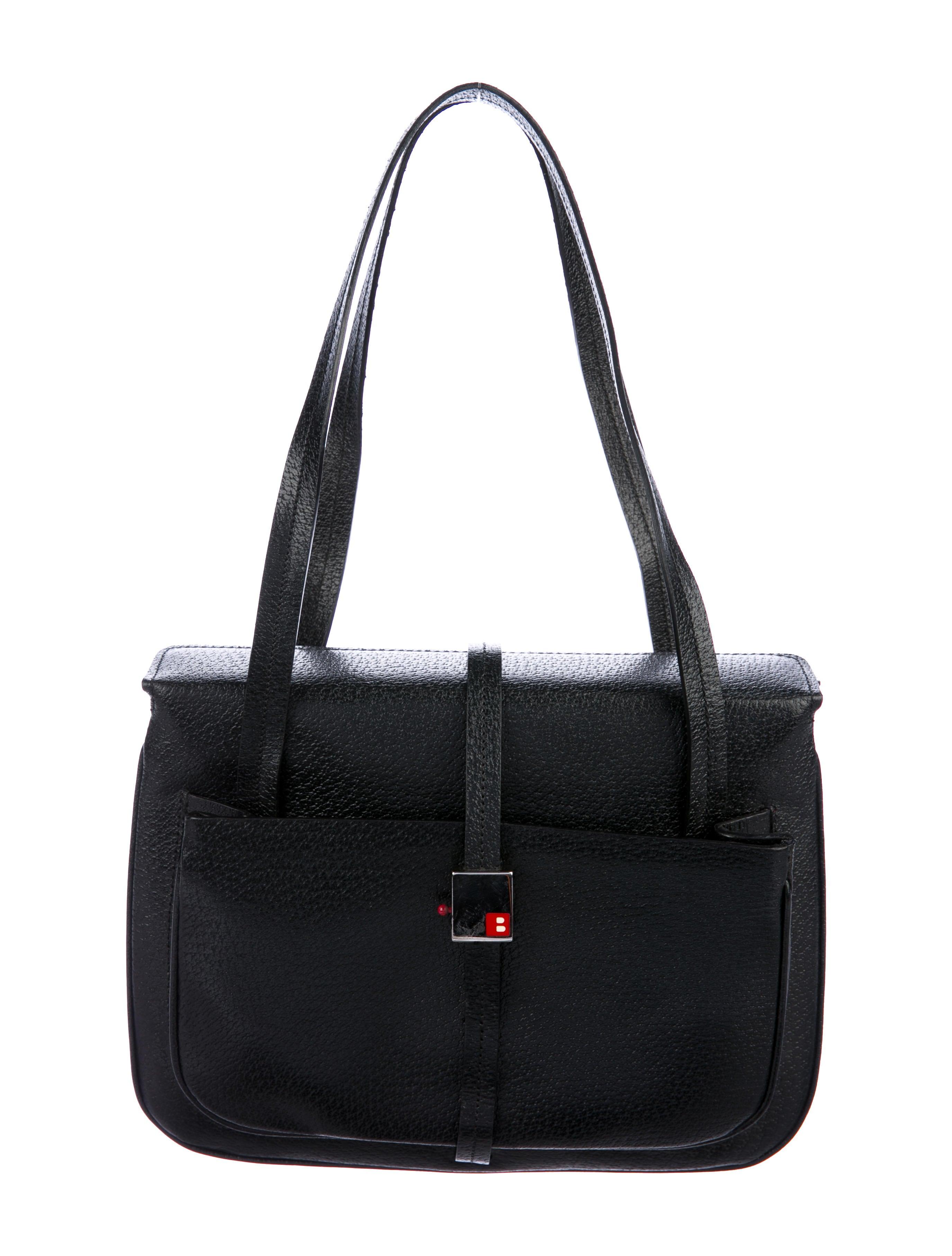 857dfcd204a7d Bally Shoulder Leather Vintage Vintage Bag Bally 8qRvH in ...
