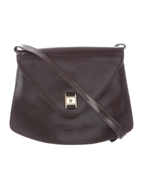 Vintage Leather Crossbody Bag by Bally