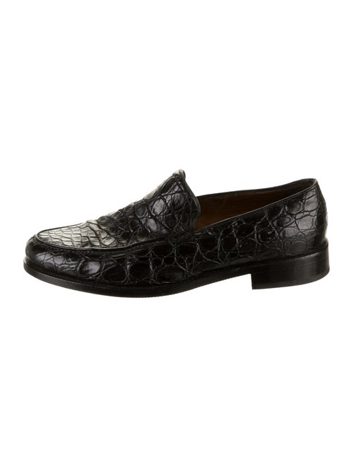 Bally Baldio Leather Loafers black