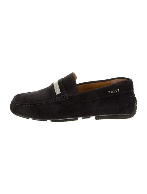 Bally Pearce Suede Loafers w/ Tags navy