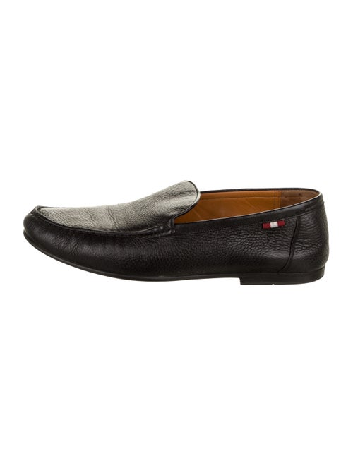 Bally Craxon Leather Loafers black