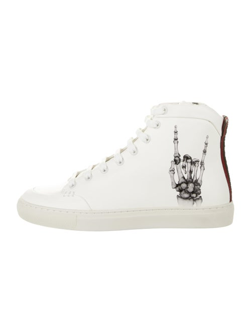 Bally Hercules x Funk Leather Sneakers w/ Tags whi