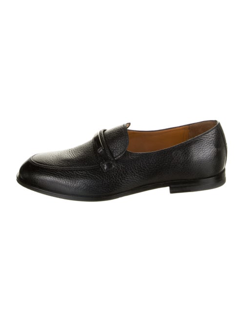Bally Leather Welmin Loafers black