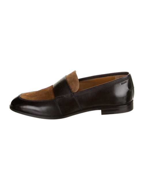 Bally Leather Wenis Loafers