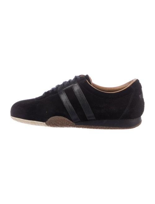 Bally Suede Low-Top Sneakers black