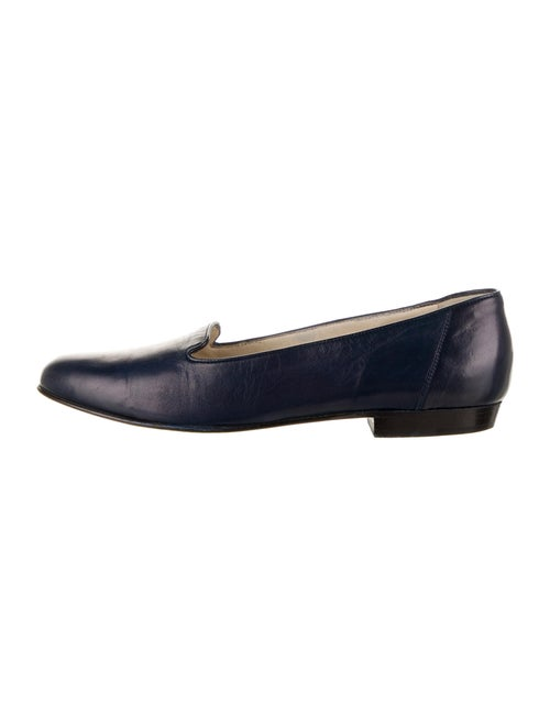 Bally Leather Loafers Blue