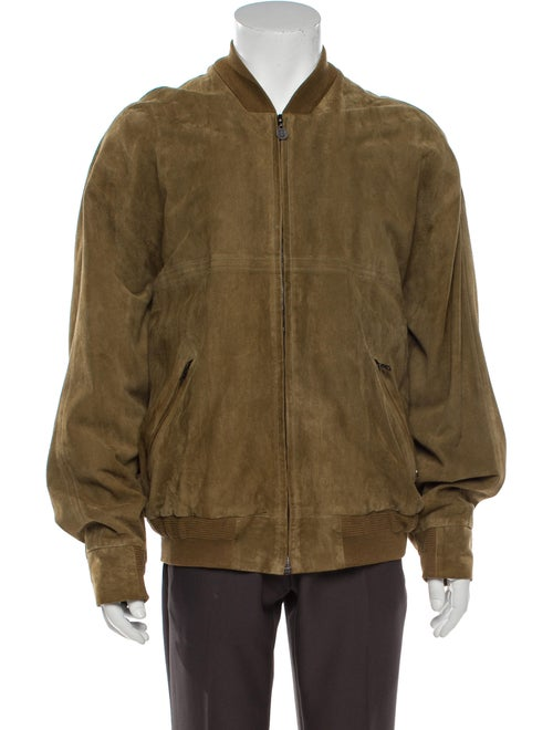 Bally Leather Bomber Jacket