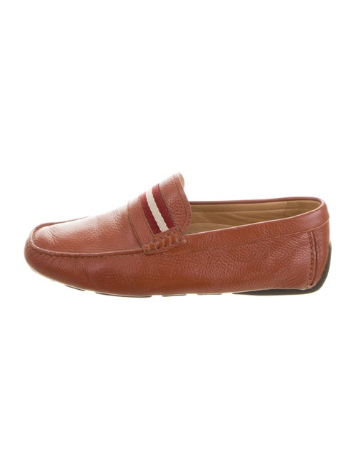 Bally Leather Moccasin Loafers