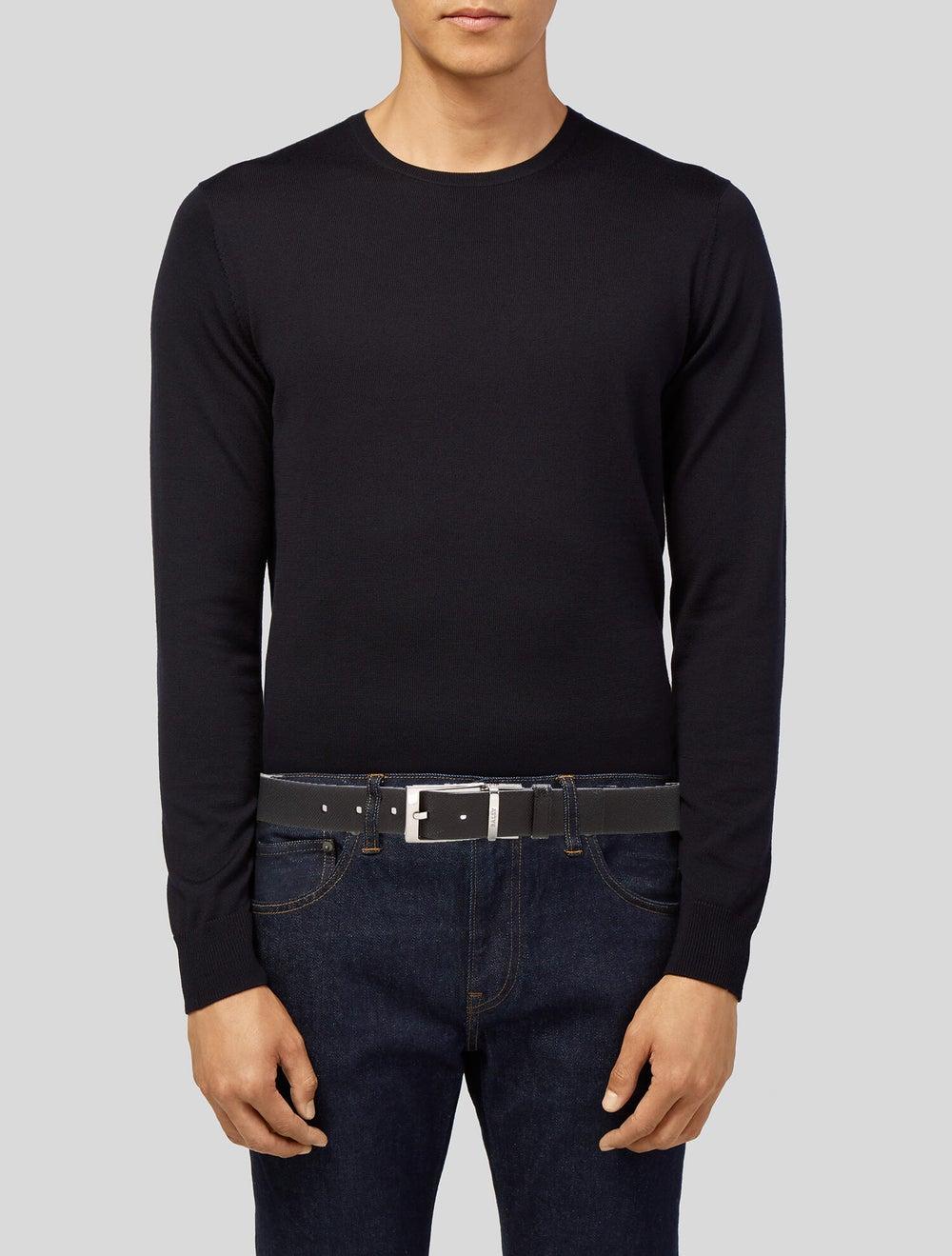 Bally Reversible Leather Belt black - image 2