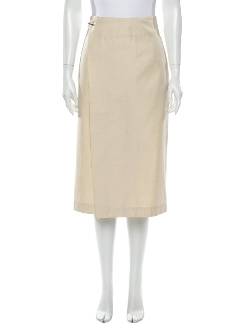 Bally Silk Midi Length Skirt