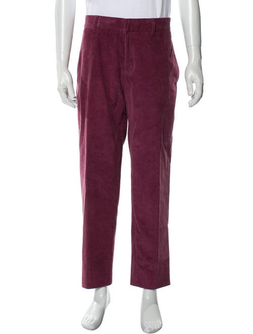 Bally Corduroy Pants Purple