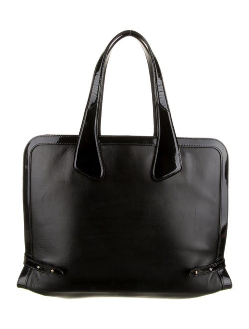 Bally Leather Tote Black