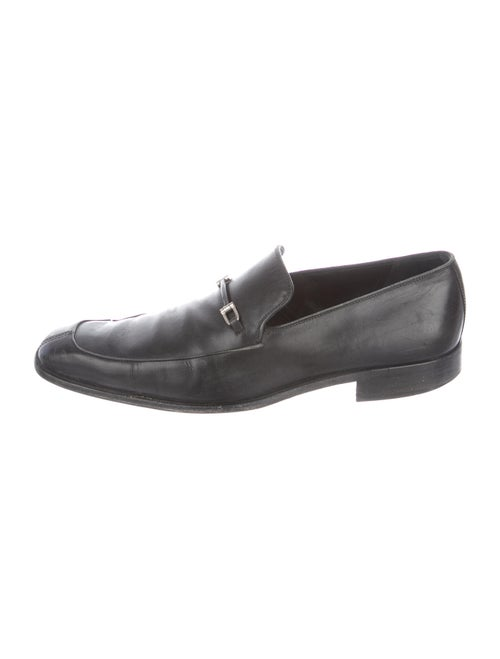 Bally Bisso Leather Loafers Black