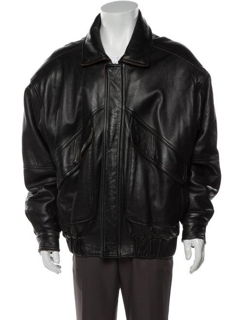 Bally Bomber Jacket Black
