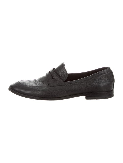 Bally Leather Loafers Black