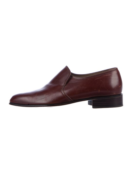 Bally Leather Loafers Brown