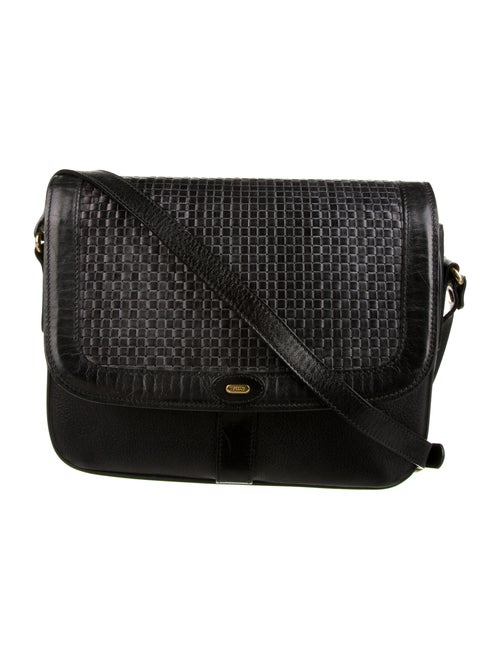 Bally Leather Crossbody Bag Black