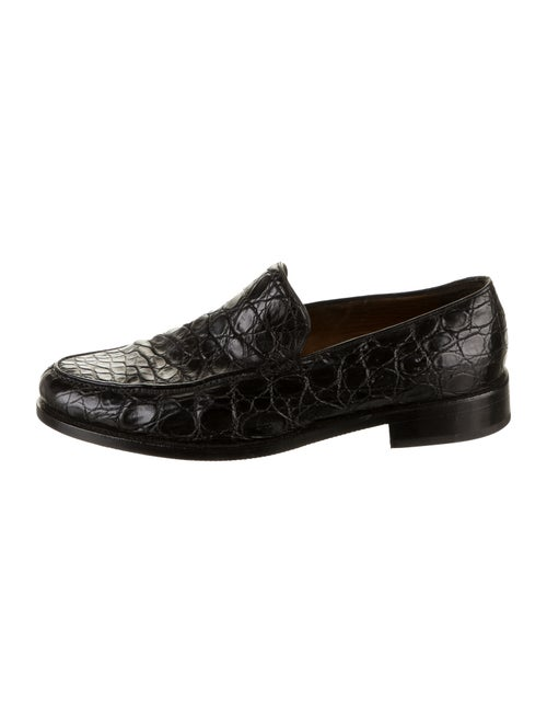 Bally Baldio Leather Loafers black