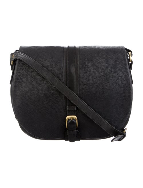 Bally Leather Crossbody Bag Black