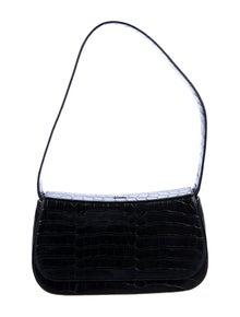 Bally Crocodile Shoulder Bag