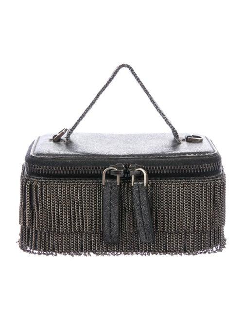 Boyy Chain-link Embellished Crossbody Bag Black