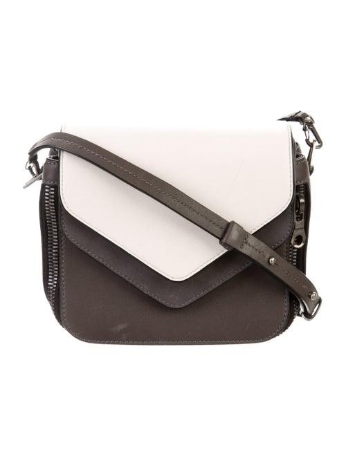 Boyy Leather Crossbody Bag Grey