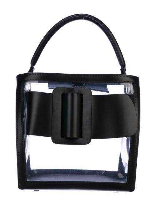 Boyy Devon PVC Handle Bag Clear