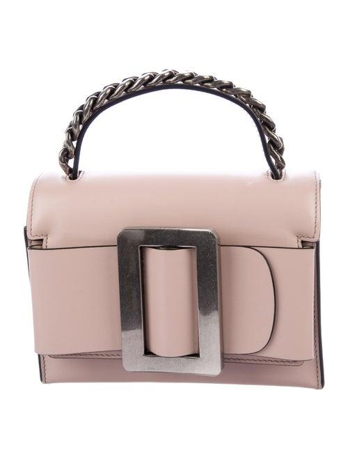 Boyy Bobby 19 Leather Shoulder Bag Pink