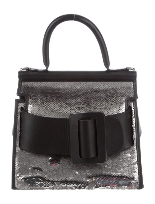 Boyy Sequin-Embellished Lucas Bag Metallic