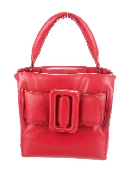Boyy Leather Top Handle Bag Red