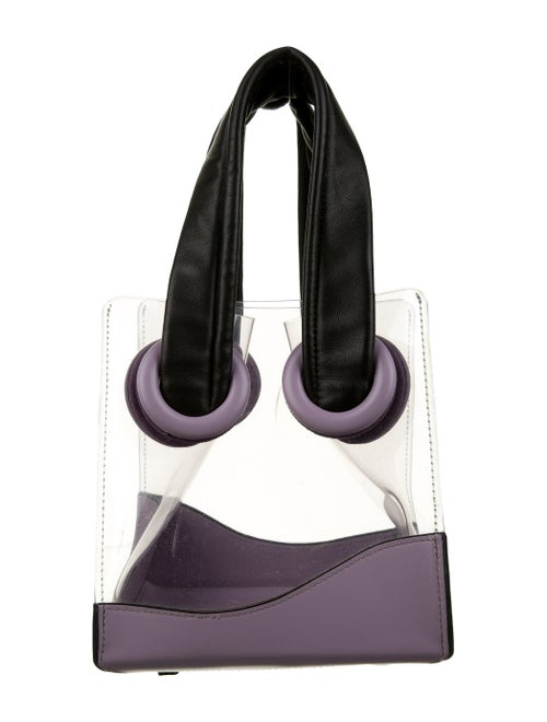 Boyy Deon PVC And Leather Tote Clear