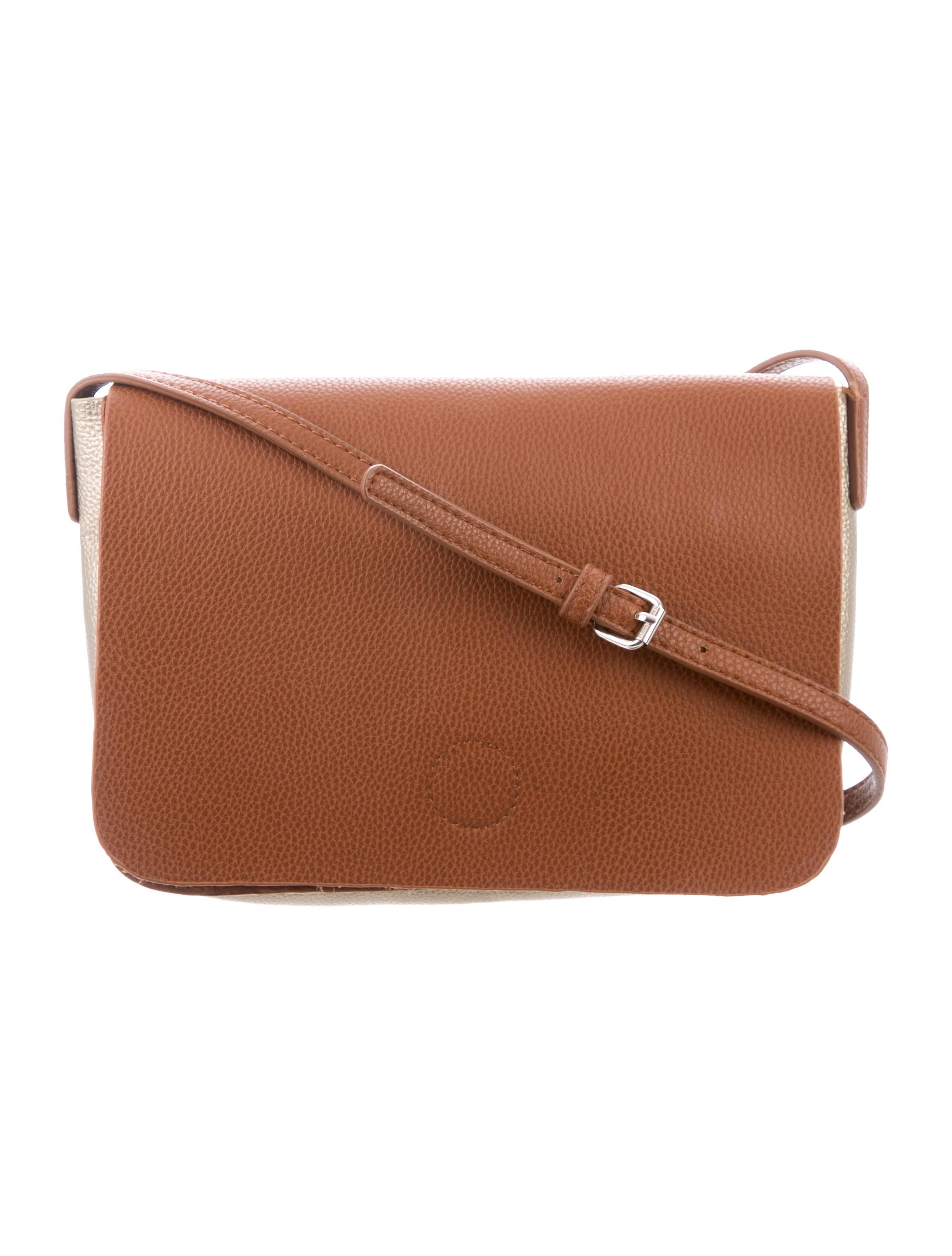 478a3813d874 Barney's New York Leather Shoulder Bag - Handbags - WBANY23248 | The ...