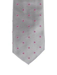 Barney's New York Polka Dot Silk Tie w/ Tags