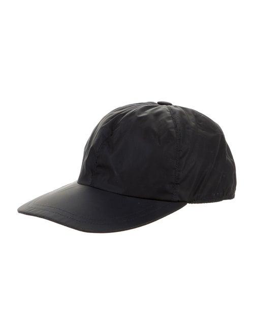 Barney's New York Woven Baseball Cap navy