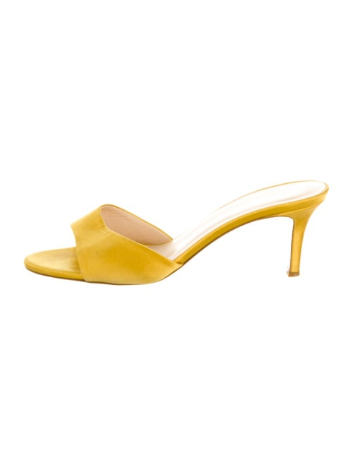 Barney's New York Slides Yellow