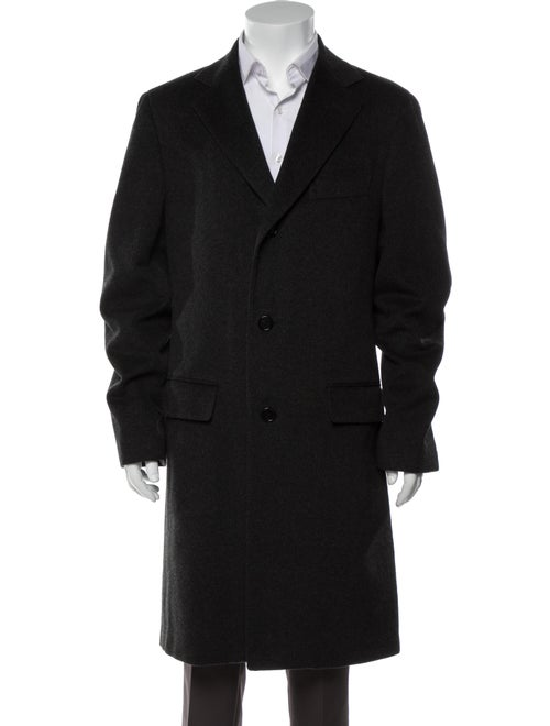 Barney's New York Cashmere Peacoat Grey